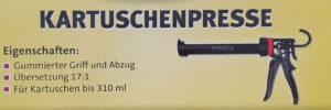 Sycofix Kartuschenpresse